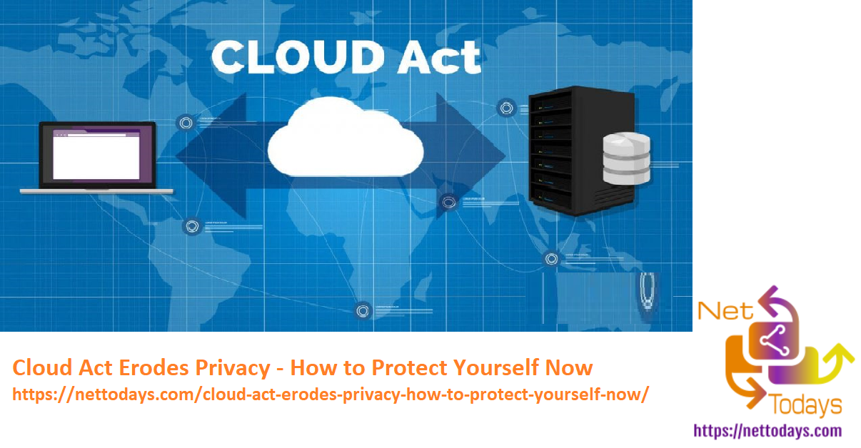 Cloud Act Erodes Privacy - How to Protect Yourself Now