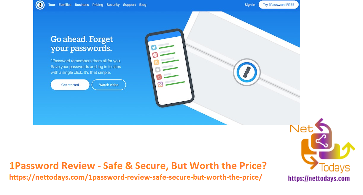1Password Review - Safe & Secure, But Worth the Price