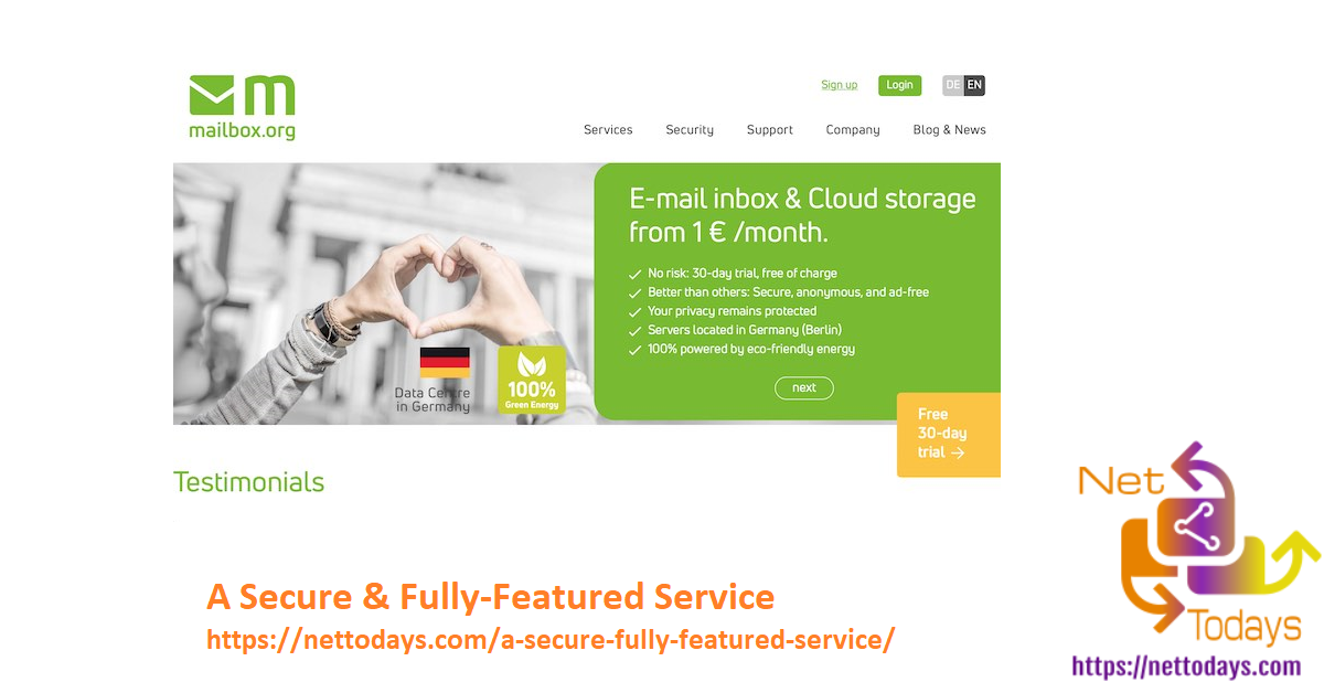 A Secure & Fully-Featured Service