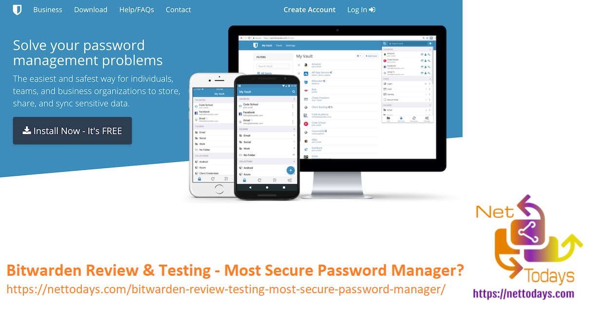 Bitwarden Review & Testing - Most Secure Password Manager?