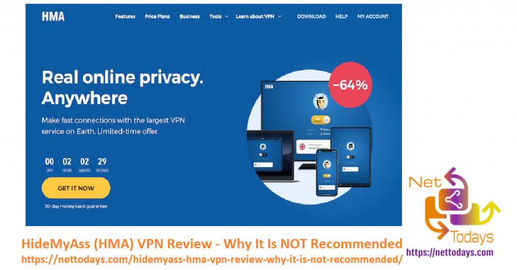 HideMyAss (HMA) VPN Review - Why It Is NOT Recommended