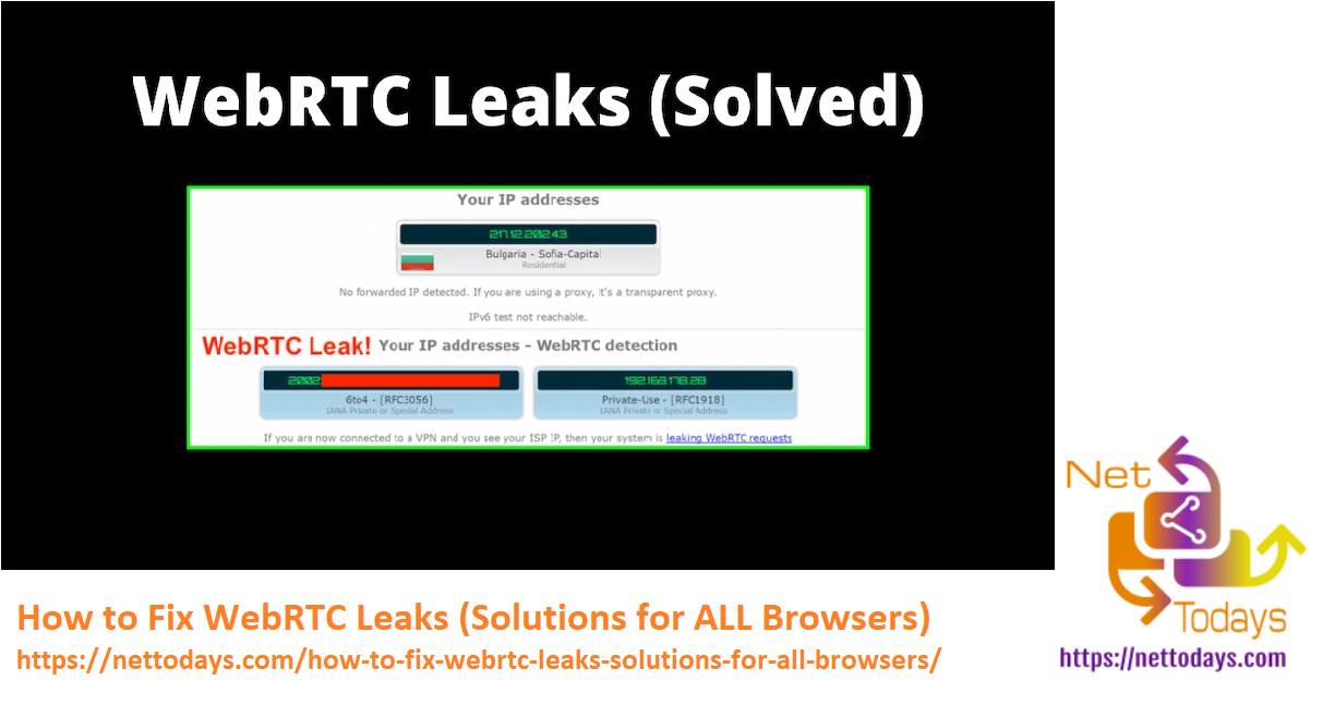 How to Fix WebRTC Leaks (Solutions for ALL Browsers)