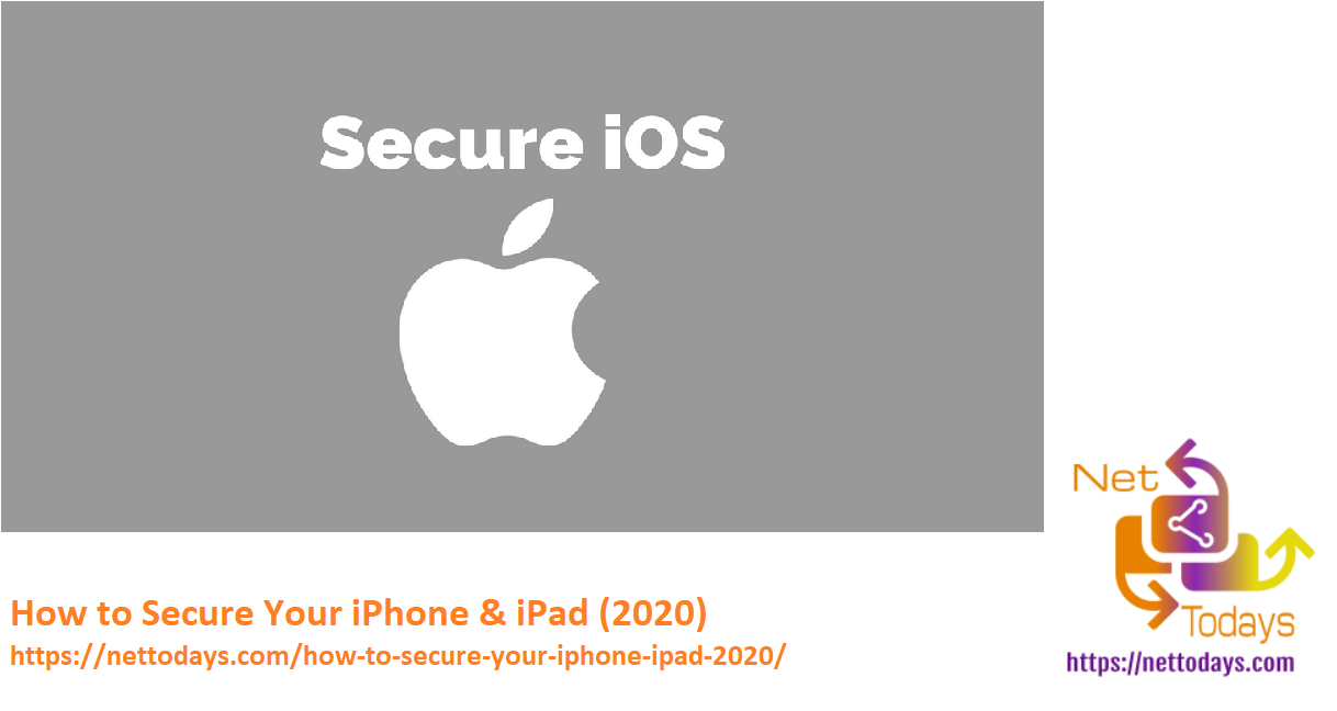 How to Secure Your iPhone & iPad (2020)