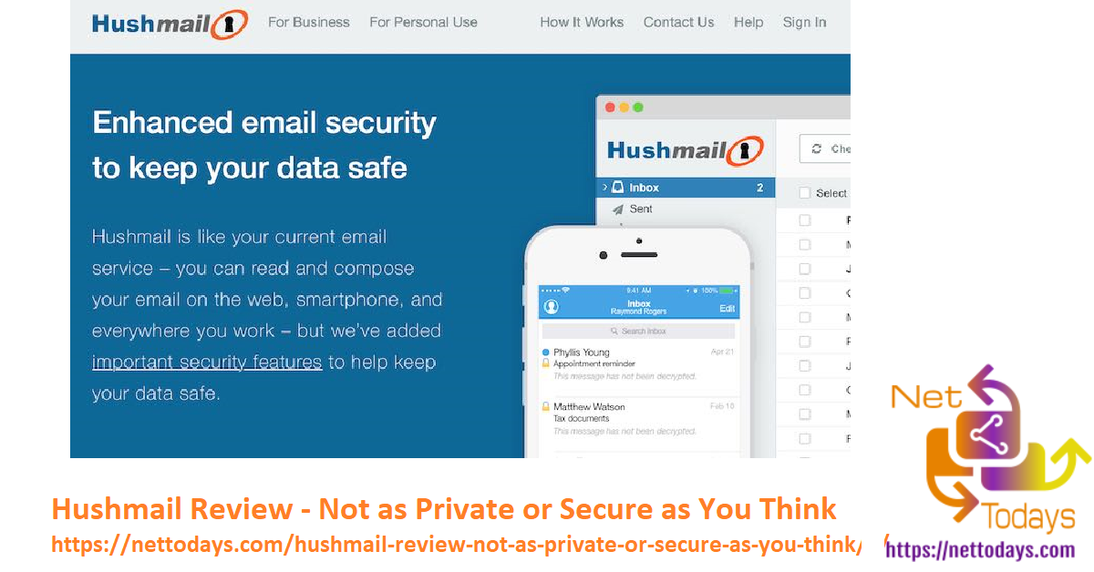 Hushmail Review - Not as Private or Secure as You Think