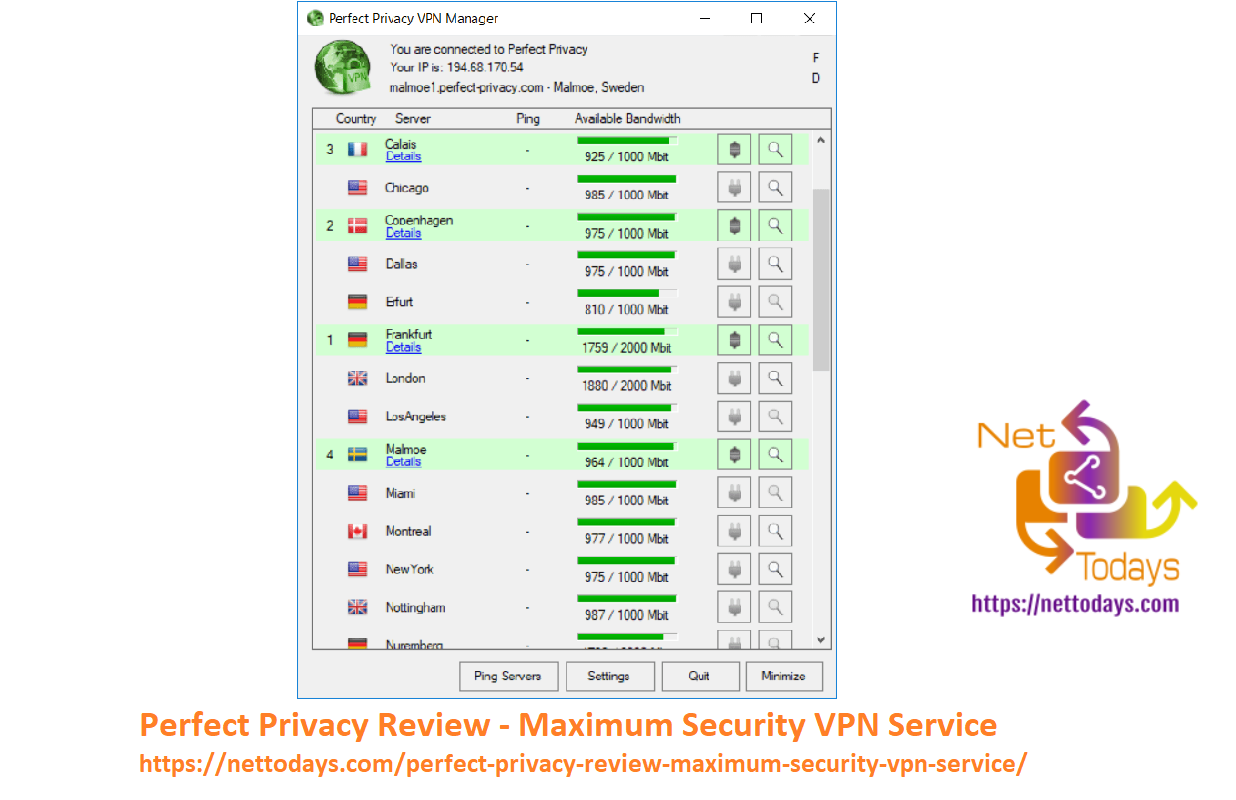 Perfect Privacy Review - Maximum Security VPN Service
