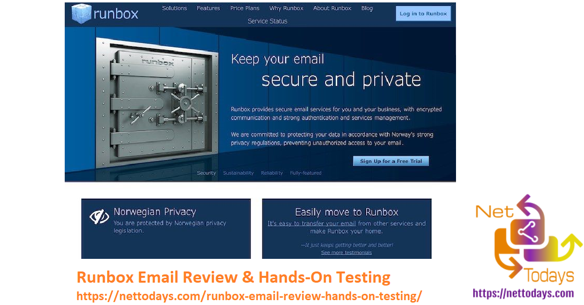 Runbox Email Review & Hands-On Testing