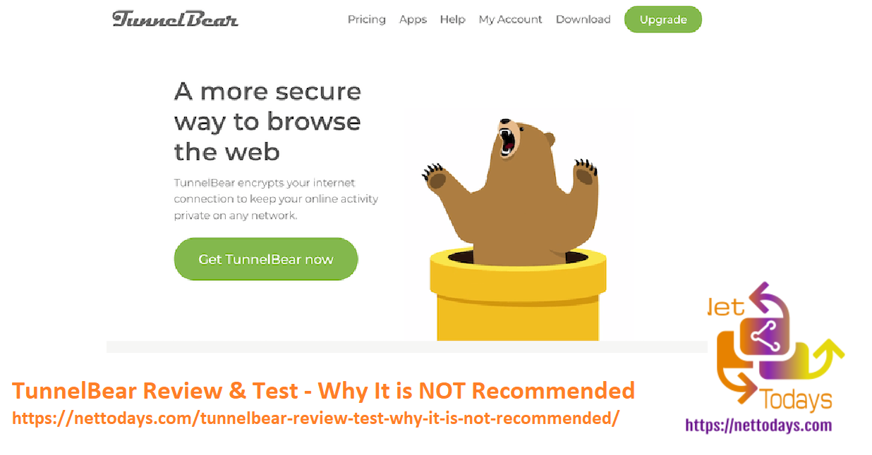 TunnelBear Review & Test - Why It is NOT Recommended