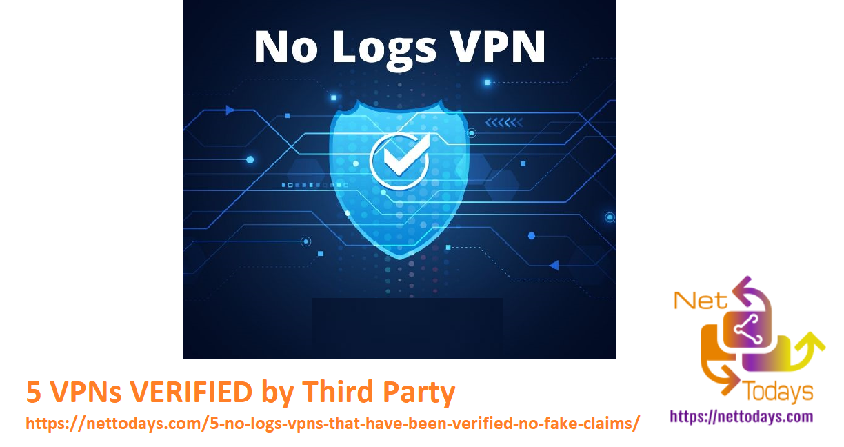 VPNs VERIFIED by Third Party