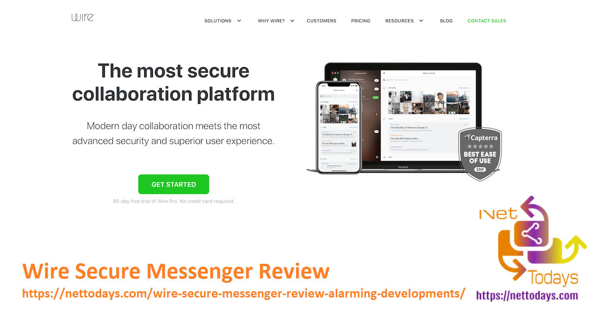 Wire Secure Messenger Review